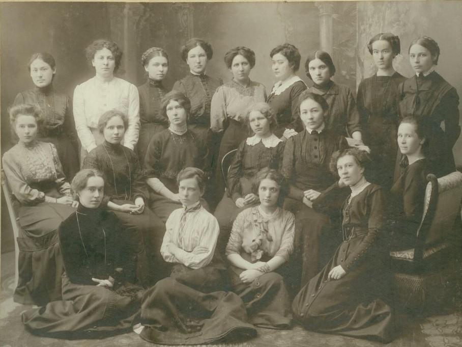 Первые женщины политехнического
